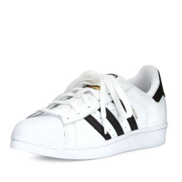size 40 3fb33 6db35 ADIDAS SUPERSTAR Black & White Sneakers